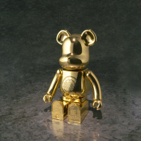 Chogokin BE@RBRICK Junikyu Gold Cloth ver. 200% Size Acyxu1RO