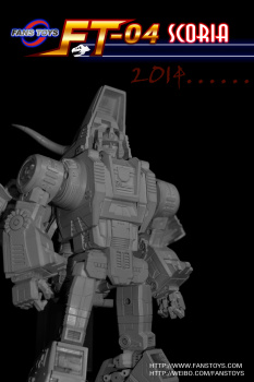 [Masterpiece Tiers] FANSTOYS FT-04 SCORIA aka SLAG - Sortie Mai 2014 AdjsCrHc