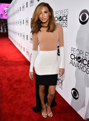 Naya Rivera - 40th Annual People's Choice Awards at Nokia Theatre L.A. 08-01-2014  39x updatet AdpoMN5o