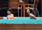 Bill et Tom en vacances aux Maldives Janvier 2010 AduaMrPF