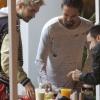 [Vie privée] 14.06.2014  Astro Burger  West Hollywood Los Angeles Etats-Unis Bill & Tom Kaulitz  BWx1LCN9