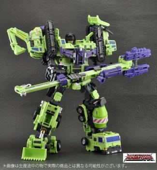 [Combiners Tiers] MAKETOYS GREEN GIANT 61 aka DEVASTATOR - Sortie Juillet 2012 GoVrYkLD