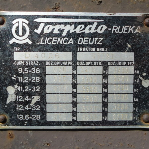 Traktori Torpedo  opća tema  JeRTORUj