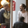 [Vie privée] 14.06.2014  Astro Burger  West Hollywood Los Angeles Etats-Unis Bill & Tom Kaulitz  XEi0rZFA