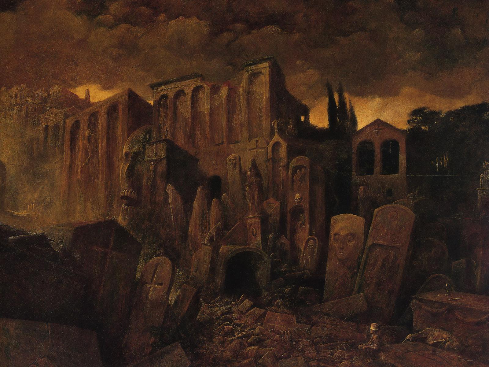 El arte gótico y oscuro de Zdzislaw Beksinski Zdzislaw_Beksinski_49_1600x1200