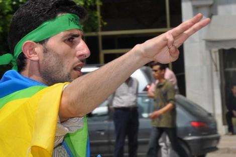 ويكيلكس: ناشطون أمازيغ مغاربة يطلبون دعم أمريكا لمواجهة العرب Amazighparty_527165771