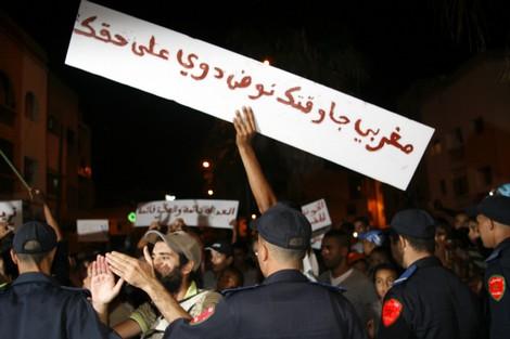 تراجع كبير لأعداد المشاركين في احتجاجات 20 فبراير في المدن المغربية Fev20wa9fa_452984162