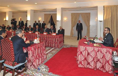 مجلس وزاري يصادق على مشروعي قانونين مرتبطين بالانتخابات Roi_minist__riel_Nador_330243349