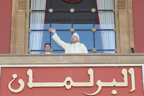 الخطاب الملكي في افتتاح دورة أكثوبر 2011 للبرلمان  Roiparlement_359836204