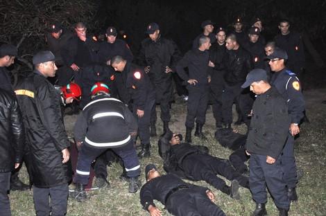 إصابة حوالي 100 شرطي بجروح في حادثة سير بالدارالبيضاء Accidentpolice_640894840
