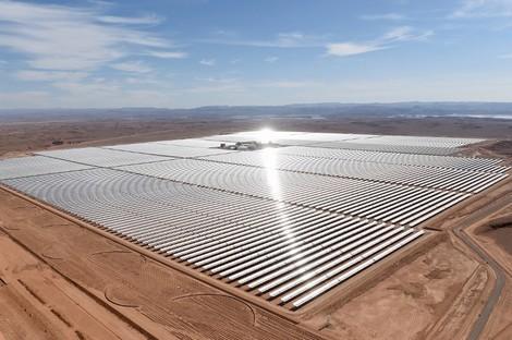 """شبكة الأخبار الأمريكية: المغرب في طريقه ليصبح """"قوة عظمى في قطاع الطاقة الشمسية"""" Noorune_454590965"""