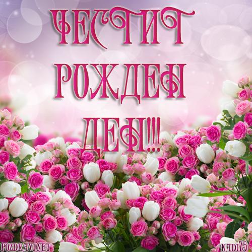 Честит Рожден Ден, Zaharka! Chestit-rojden-den-s-buket-ot-rozi