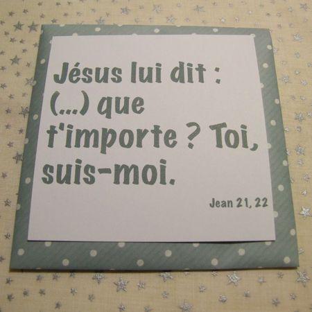 Michel blogue avec Louise Cardin/Sujet/2/Le regard de Jésus ou les regards des autres/ TOI-SUIS-MOI