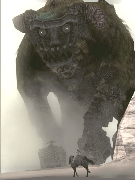 Game slike Shadow-of-the-colossus