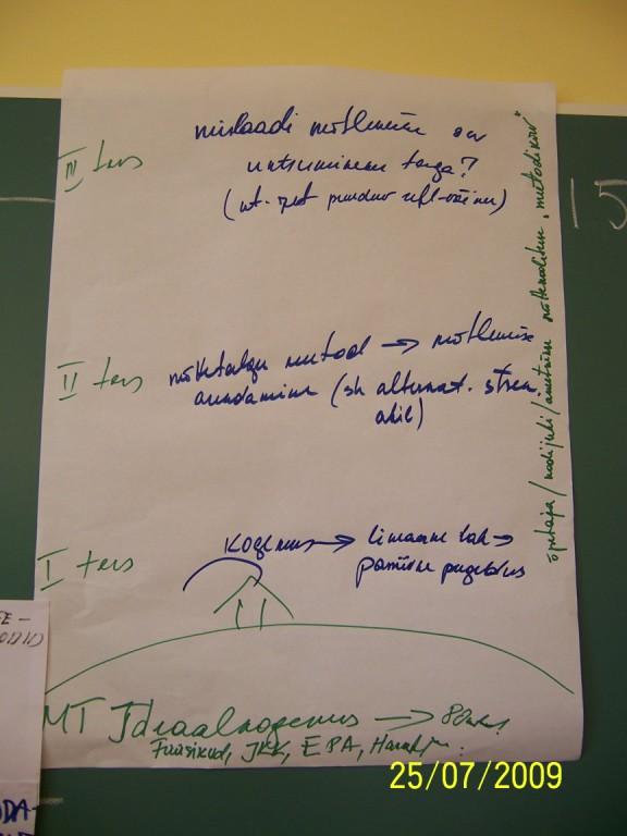 Ene, Valdo, Jussi ettekanne mõttetalgutest ja kommentaarid (filmiklipp) 09_07_25_Ene_Valdo_Jussi