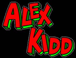[Série] Alex Kidd - Master System & Mega Drive Logo