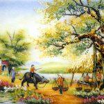 Dòng thơ họa của Nguyễn Thành Sáng &Tam Muội ( Tập 1 ) - Page 20 Tranh-Da-Quy-Quan-Nuoc-Dau-Lang-150x150