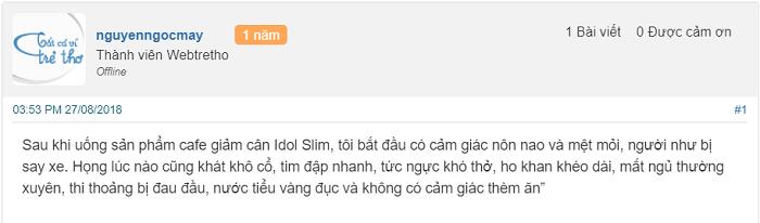 [REVIEW] Cách uống cafe giảm cân Idol Slim đúng nhất Cafe-giam-can-idol-slim