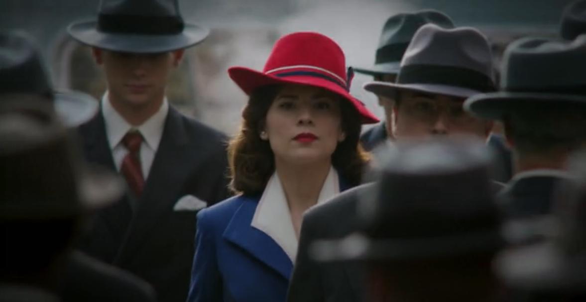 Agent Carter (2015–2016)  AgentCarter-s1e1-Peggy-red-hat