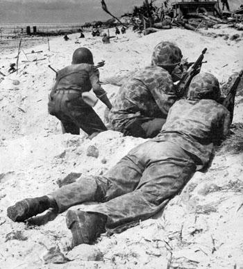 19 - 23 Novembre 1943 : La bataille de Tarawa :  Coverme