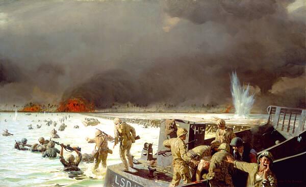 19 - 23 Novembre 1943 : La bataille de Tarawa :  Lovel