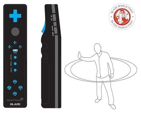 Blaze anuncia o controle Motion Freedom 3D, ou o Wiimote para o PS3 Blaze-ps3-remote-10-12-09