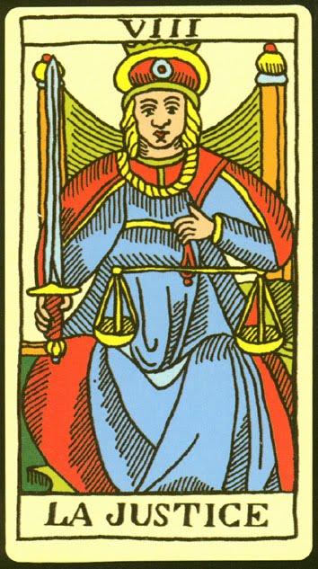 El número 8 - Página 12 La-Justicia-y-el-tarot