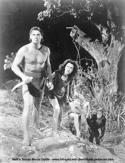 Corps masculins (pour les dames) Tarzan