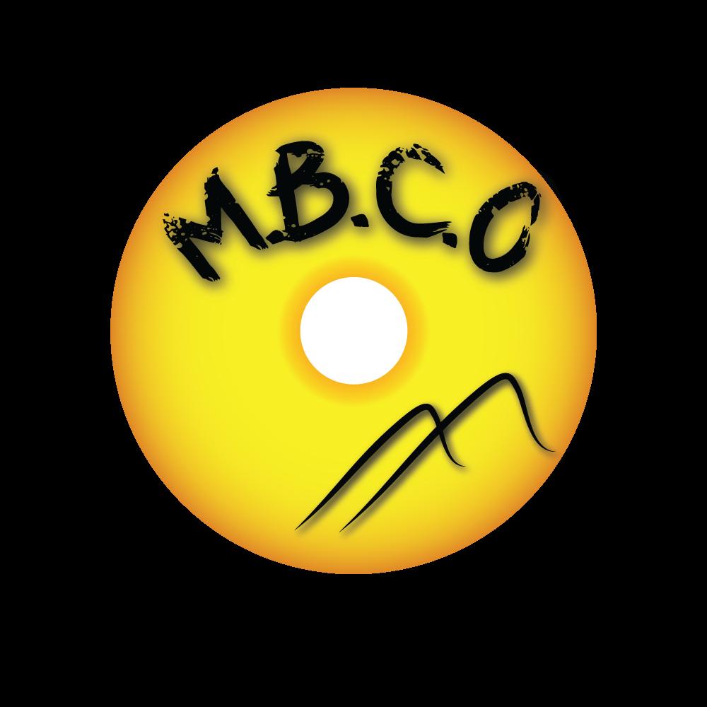 Création graphique pour le club: T-shirt, bâche, enjoliveur MBCO-enjoliveur
