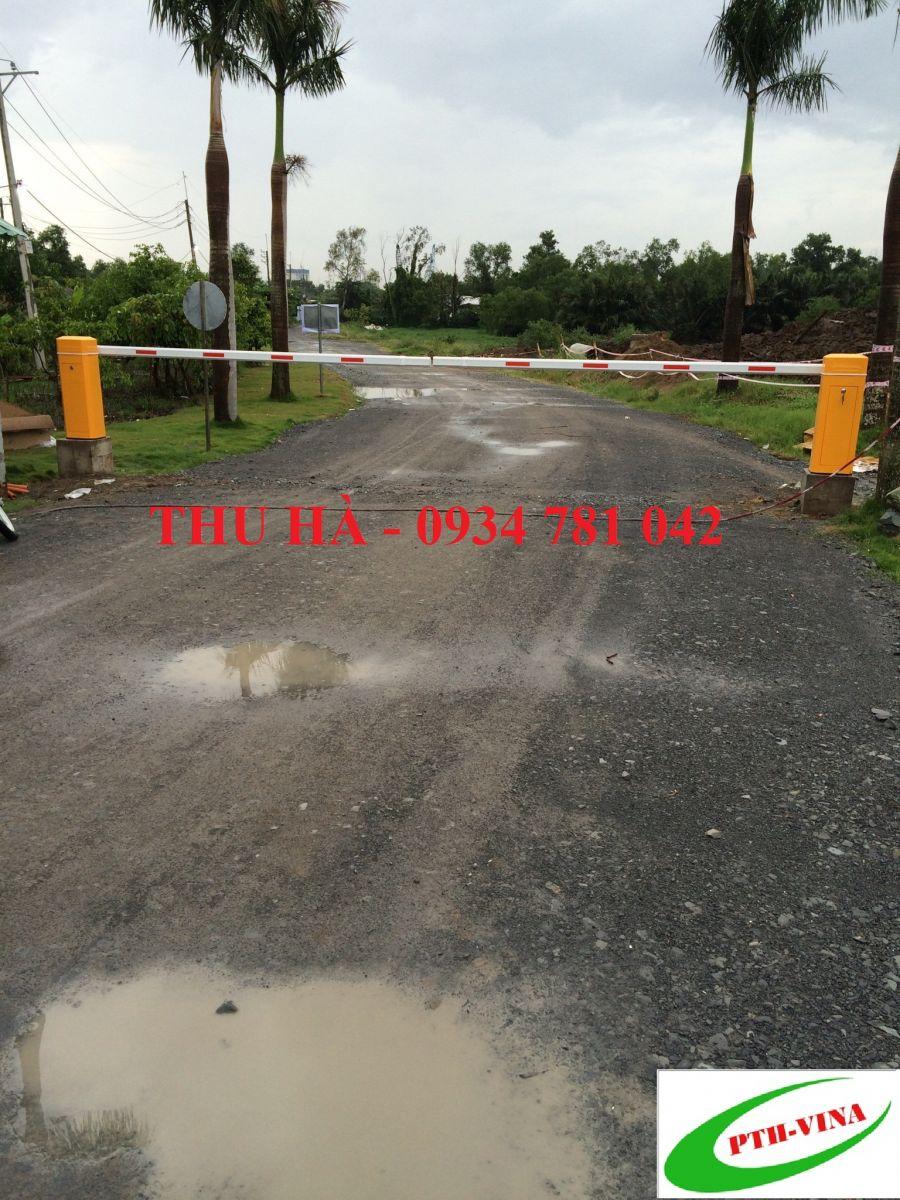 lắp barie cổng khu dân cư, cổng nhà máy, khu công nghiệp HY8