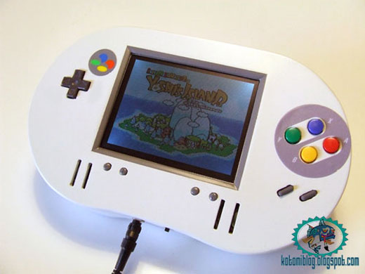 -= CUSTOM SUPER NES  =- Snes_portable