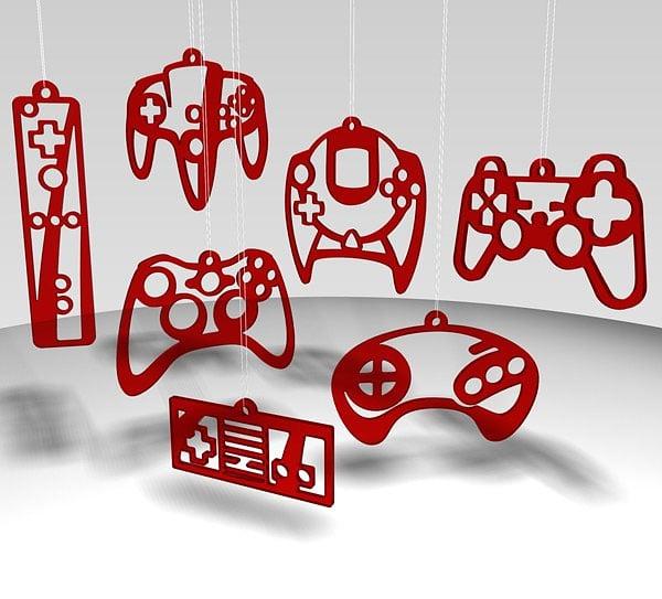 L'univers des Geeks - Page 4 Video_game_controller_ornaments