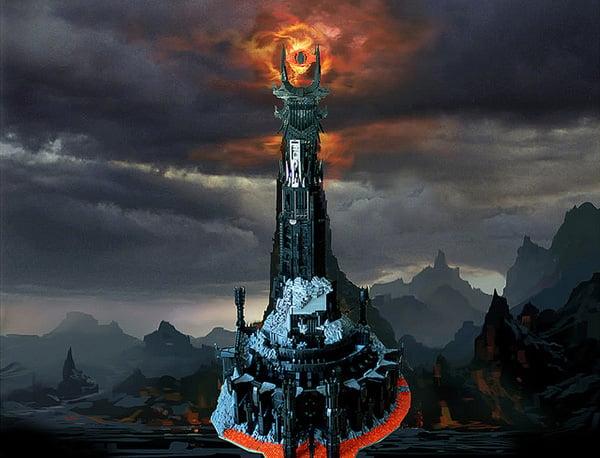 El topic de LEGO - Página 2 Lego-barad-dur-dark-tower-of-sauron-by-kevin-walter