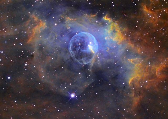 Envie de partager avec vous de Magnifiques Images du Cosmos Nebuleuse-bulle