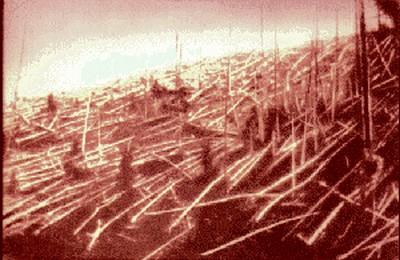 Il y a 100 ans, le ciel s'embrasait sur la Tunguska Tunguska-1927