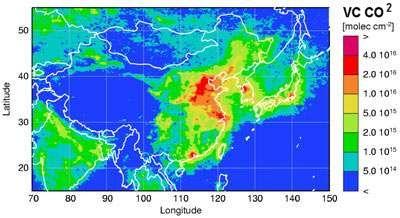 Le Réchauffement climatique qu'en pensez-vous? - Page 3 Chine-carte-CO2