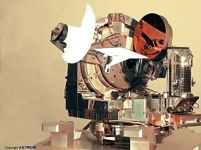1ère mondiale pour l'ESA: une liaison laser satellite-avion Telescope-lola-avion