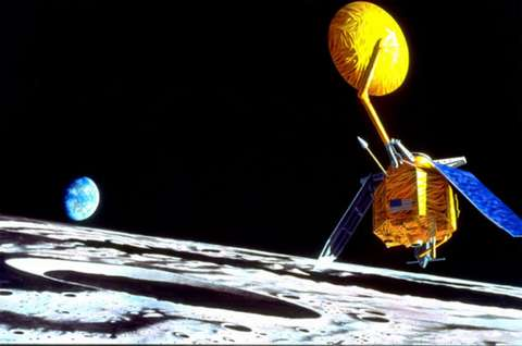 LRO (Lunar Reconnaissance Orbiter) Vue-LRO-Lune-Terre