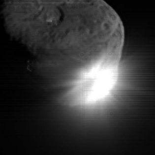 La vie vient de l'espace Collision-Vue-sonde-1