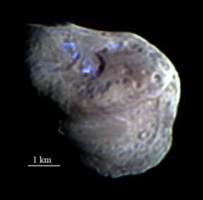 Tempel1: preuve de présence d'eau sur une comète Tempel-1-eau