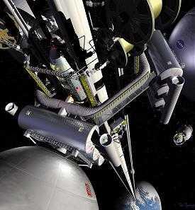 L'ascenseur spatial: une descente aux enfers ? Ascenseur-spatial