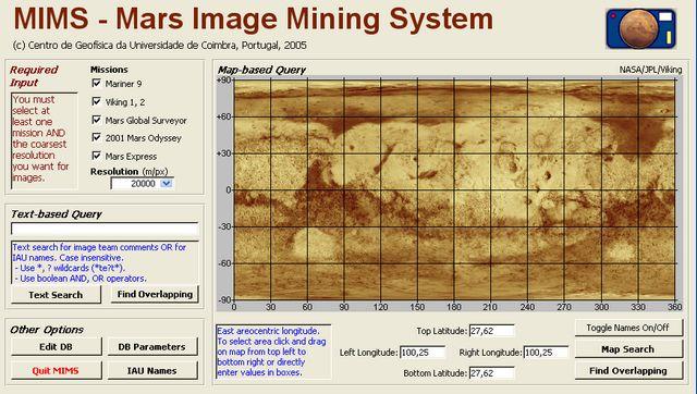 MIMS: la plus importante base de données d'images de Mars Mims