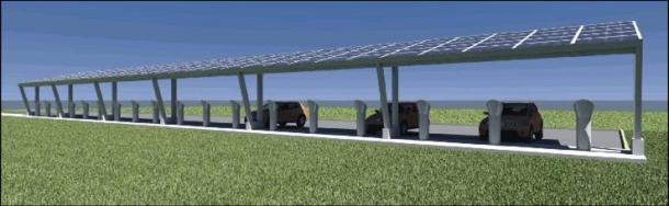 Estación de energía solar para el Nissan Leaf Nissan-solar-plant-tn-1