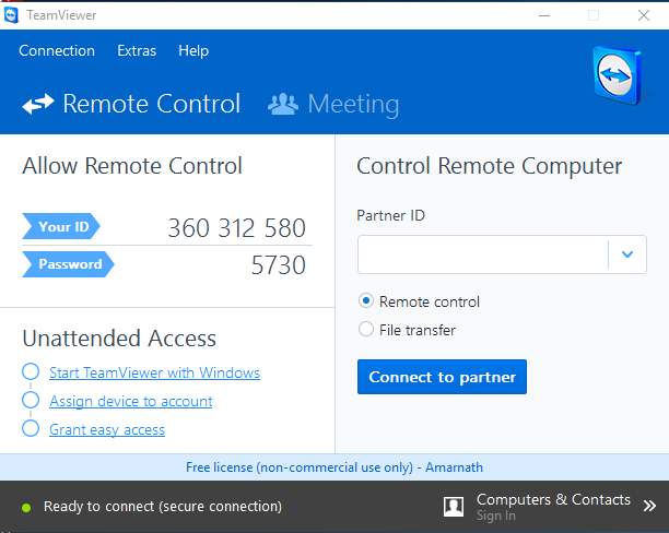 [checkout]how To Control Your Pc Using Your Android Device Teamviewer-desktop