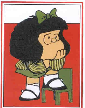 El juego de los animales Y LAS  FRUTAS - Página 11 Mafalda20pensando