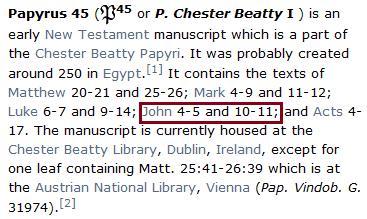 L'imposture d'un manuscrit copte de Jean 1 inventé par les TJ - Page 2 114