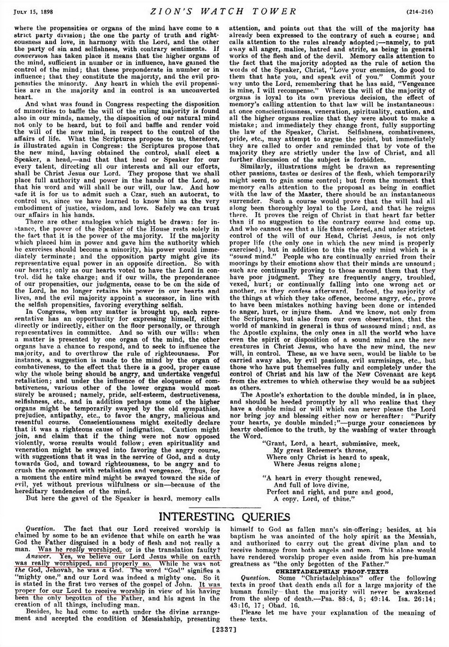 La Bible des témoins de Jéhovah...modifiée pourquoi ?  WT_July_15_1898_2337