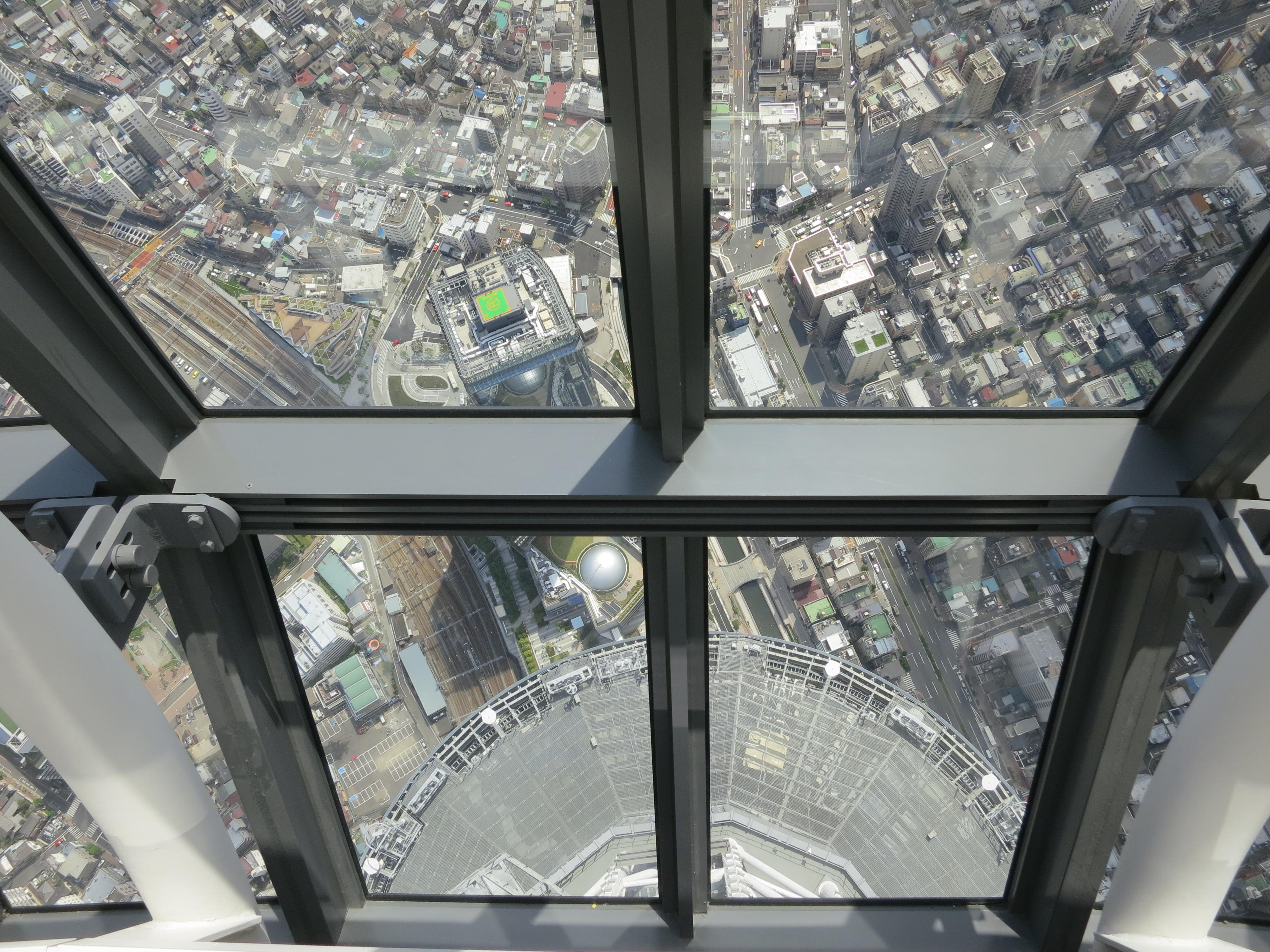 Najviši neboderi svijeta Tokyo-sky-tree-24-450-fl-view-down