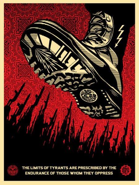 Tyranny Got You Down? Tyrant-boot-poster
