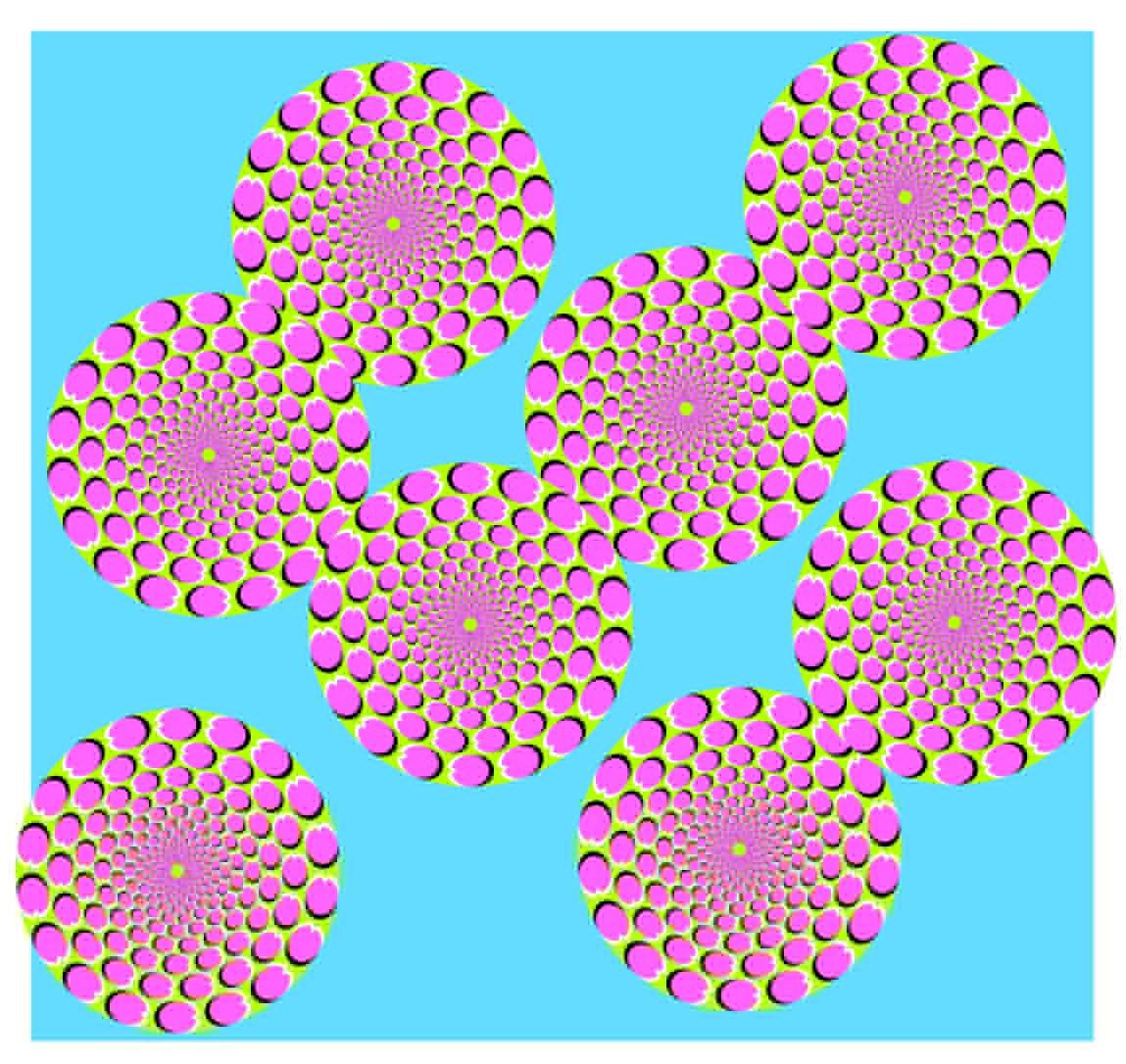 Ilusiones ópticas Movimiento11